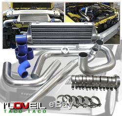 01-05 Lexus Is300 3.0L Front Mount Turbo Intercooler + Polish Bolt On Piping Kit