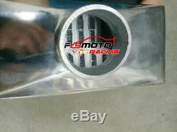 24x11.5x4.3 FMIC Universal Aluminum turbo intercooler Front Mount Tube & Fin