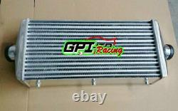 24x11.5x 4.3 FMIC Universal Aluminum turbo intercooler Front Mount Tube &Fin