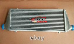 28x10x2 Front Mount UNIVERSAL ALUMINUM TURBO INTERCOOLER 2.25 56mm IN/OUTLET