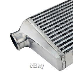 2.5 Inlet Universal Aluminum Front Mount DSM Turbo Intercooler Kit Turbo Kit