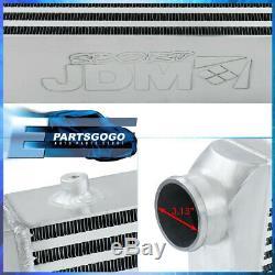 31X11.75X3 Light Weight Aluminum Front Mount Intercooler Bar Plate For Universal