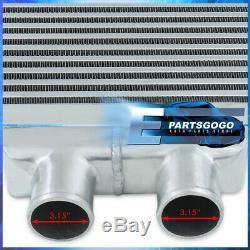 31.75x11.5x2.75 Same Side Light Weight Aluminum FMIC Intercooler Bar & Plate