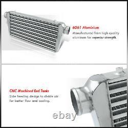 31x11.75x3 DIY Universal T&F Core Front Mount Turbo Intercooler FMIC Polished