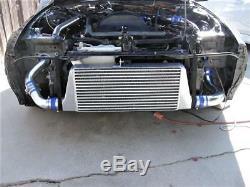 31x12x3 Turbo Front Mount Intercooler Large FMIC Universal Aluminum 3 I/O