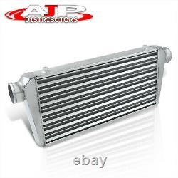 31x12x3 Universal Tube Fin JDM Racing Front Mount Turbo Charger Intercooler