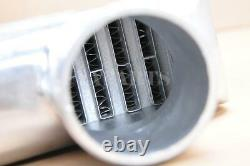 32.5x11.75x3 2 IN / 1 OUT TUBE& FIN ALUMINUM TWIN TURBO FRONT MOUNT INTERCOOLER