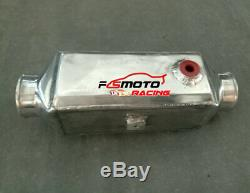 3 Aluminum Turbo Front-Mount Water to Air Intercooler EXTRA COOLING UNIVERSAL
