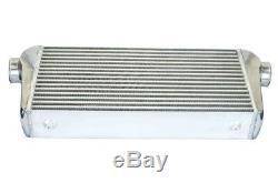 3 Inlets Universal Aluminum Front Mount Turbo Intercooler Kit (600300100)mm
