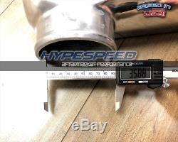 4 Inlet 31x12x4 Turbo Front Mount Intercooler FMIC Universal V6 V8 V10 V12