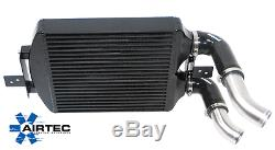 AIRTEC Stage 2 Fiesta 1.0 Eco Boost front mount Intercooler upgrade