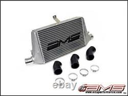 AMS FMIC Front Mount Intercooler With Logo for 2003-07 Mitsubishi Evo 8 / 9