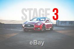 AMS Red Alpha Stage 3 Performance Package For 2016-2019 Infiniti Q50