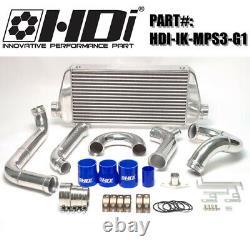 Brand New Genuine HDi FMIC Front Mount Intercooler Kit For MazdaSpeed 3