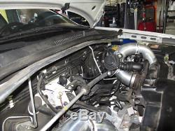 CXRacing FMIC Front Mount Intercooler Kit For 2005+ Subaru Legacy 2.5T Blue Hose