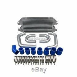 CXRacing Front Mount Intercooler Piping Kit For 90-96 300ZX Z32 Twin Turbo Blue