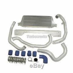CXRacing Front Mount Intercooler Piping Kit withBOV For 02-07 06 Subaru WRX/STi