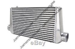 CXRacing Universal 27x12x3 Bar & Plate 3 Inlet & Outlet Front Mount Intercooler