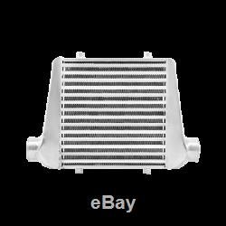 CXRacing Universal Front Mount Tube & Fin 18x12x3 Intercooler 2.5 Inlet&Outlet