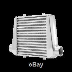 CXRacing Universal Front Mount Tube & Fin 18x12x3 Intercooler Aluminum 3 Inlet