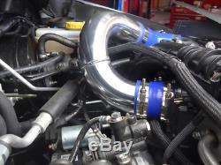 CX Front Mount Intercooler BOV Kit For 2014+ Subaru WRX FA20DIT Turbo Black