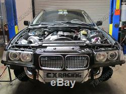 CX Front Mount Intercooler Kit For 92-98 BMW 3-Series E36 to Top Mount T3 Turbo