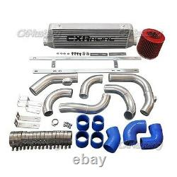 CX Front Mount Intercooler Piping Intake Pipe Kit For 2010+ Chevrolet Cruze Blue