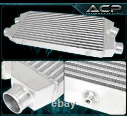 Dual Core 6061 Aluminum High Flow Front Mount Intercooler FMIC 30X11X3 In/Out