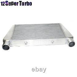 EMUSA Universal 2.5 I/O V Mount Front Intercooler Overszie 23x13x3 2 1/2