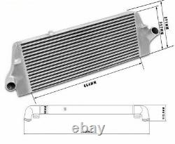 FMIC Front Mount Intercooler For Ford Focus MK II ST225 Gen 3 Stage 2 Upgraded
