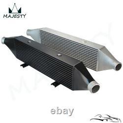 FMIC Front Mount Intercooler For Subaru Impreza WRX STI 02-07 EJ20 EJ25 Black