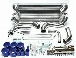 FMIC V Mount Intercooler Kit for 92-02 RX7 RX-7 FD FD3S JDM 1.3L 13B Twin Turbo