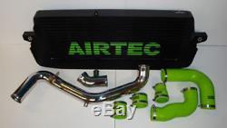 FORD FOCUS RS MK2 AIRTEC Étape 1 FRONT MOUNT Intercooler avec symposer ENLEVER