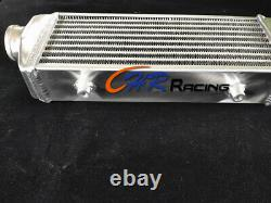 FRONT MOUNT UNIVERSAL TURBO ALLOY INTERCOOLER 136MM x 330MM x65MM 2.2 in/outlet