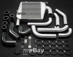 FRONT Mount Intercooler Kit FOR Nissan NAVARA D22 ZD30DDT 3.0L 97-04