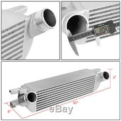 For 15-19 Ford Mustang 2.3l Ecoboost Bar & Plate Fmic Front Mount Intercooler