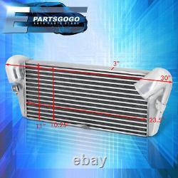 For 93-97 Mazda RX-7 FD3S 13B Bolt-On FMIC Front Mount Aluminum Intercooler Kit