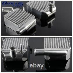 For AUDI S4 A6 ALLROAD 2.7 BI-TURBO Front Side Mount Aluminium Intercooler Kit