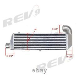 For Acura RSX DC5 2002-06 Rev9 Bolt-On Front Mount Intercooler Kit Piping 400HP