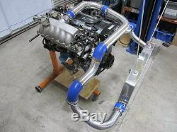 For Nissan S13 S14 240SX RB20 RB25 RB25DET Front Mount Intercooler Kit withBOV