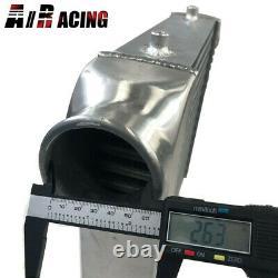 Front Mount 18X13X3 3.0 I&O YCZ-037 Tube & Fin Aluminum Polished Intercooler