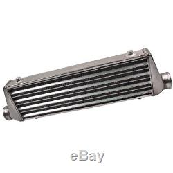 Front Mount Alloy Intercooler 21'' x 7'' x 2.25'' Core Universal (2.25 In/Out)