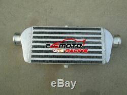 Front Mount Aluminum Intercooler 280 x 140 x 65 mm Bar & Plate 56mm 2.2 pipe