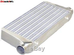 Front Mount Aluminum Tube & Fin Intake Intercooler FMIC 31X12X4 3 I/O IC UN008