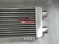 Front Mount Aluminum turbo Intercooler 600x300x70mm same side 76mm Inlet/Outlet