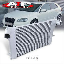 Front Mount FMIC Intercooler Turbocharge For 2006-2014 VW GTI Audi A3 S3 8P 2.0T