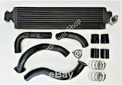 Front Mount Intercooler+Aluminium Charge Pipe Kit For Honda Civic 1.5T 2016