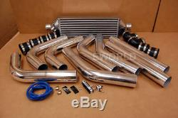 Front Mount Intercooler FMIC with 2.5 Piping and MBC Manual Boost Controller