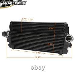 Front Mount Intercooler Kit Black For BMW F01 F06 F07 F10 F11 F12 #200001069