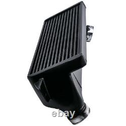 Front Mount Intercooler Kit For BMW 1M E82 2011-2013 Bar & Plate Black